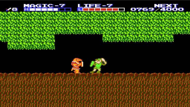 La leyenda de Zelda 2