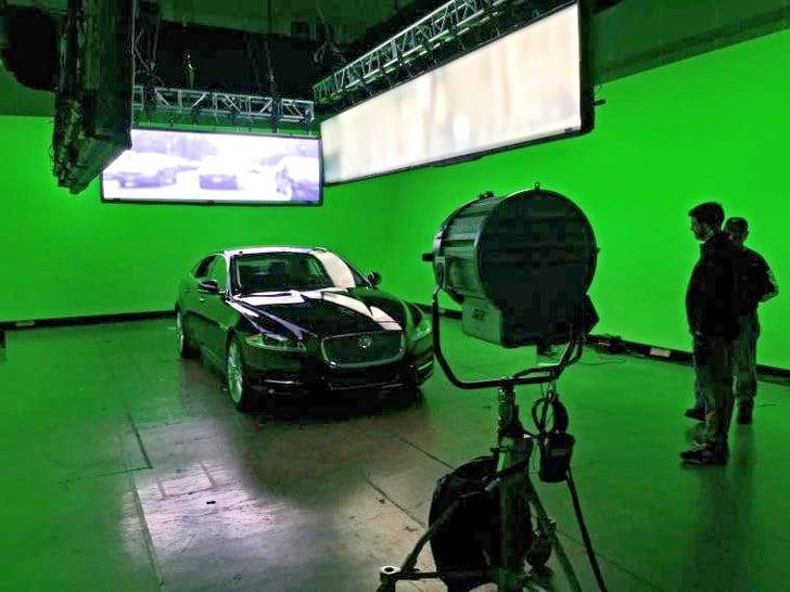 detrás de cámaras escenas