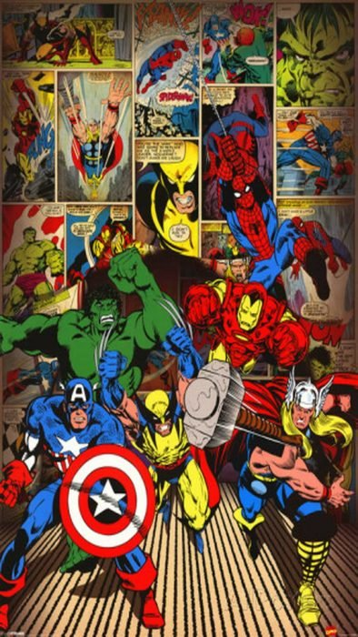 wallpaper marvel
