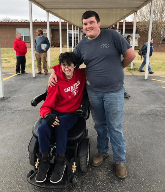 silla de ruedas amigo