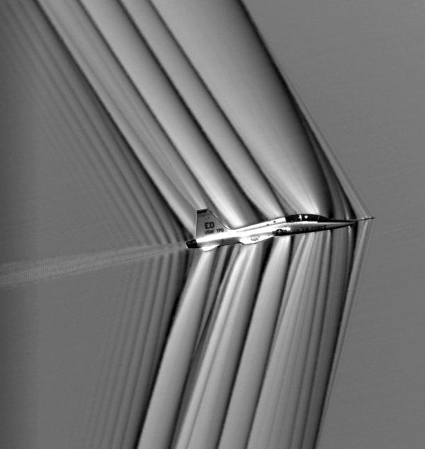 NASA naves supersónicas imágenes
