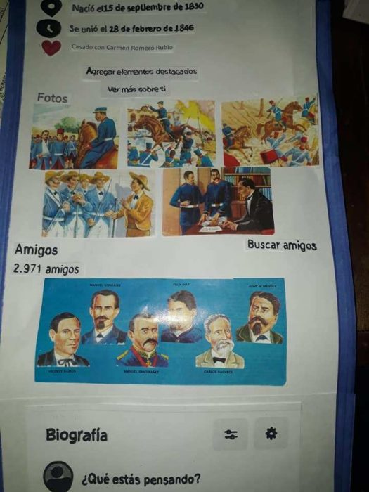 biografía porfirio díaz facebook