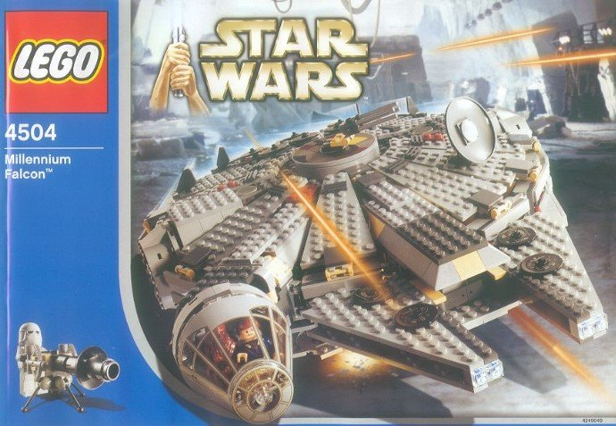 2007 Star Wars Millenium Falcon LEGO Set