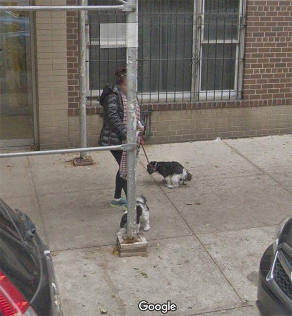Imágenes captadas por Google View