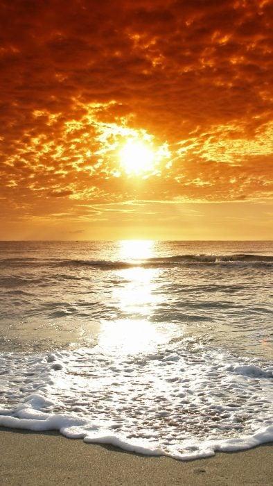 Fondos de pantalla naturaleza playa y ocaso