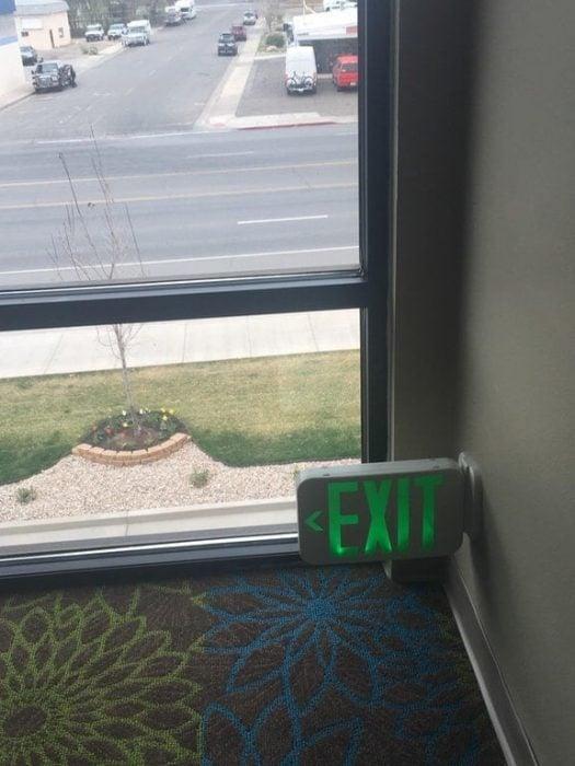 Inventos útiles salida emergencia