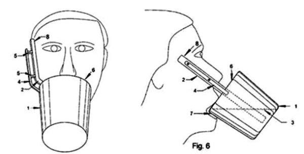 inventos con patente taza de choques