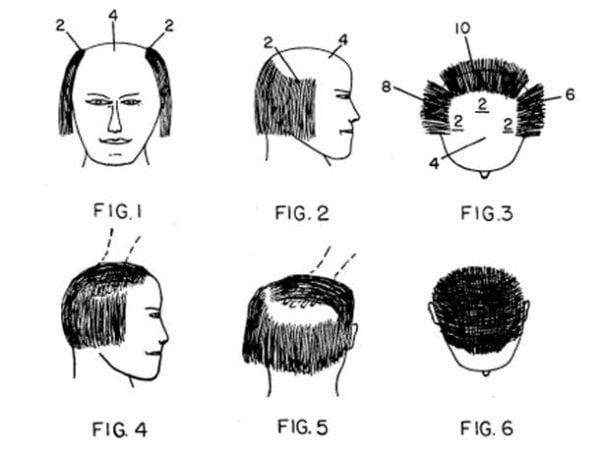 inventos con patente cabello