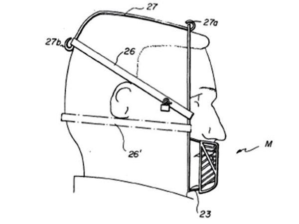 inventos con patente máscara anticomida