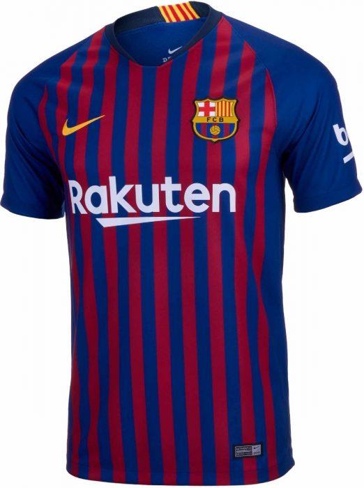 Jersey del Barcelona