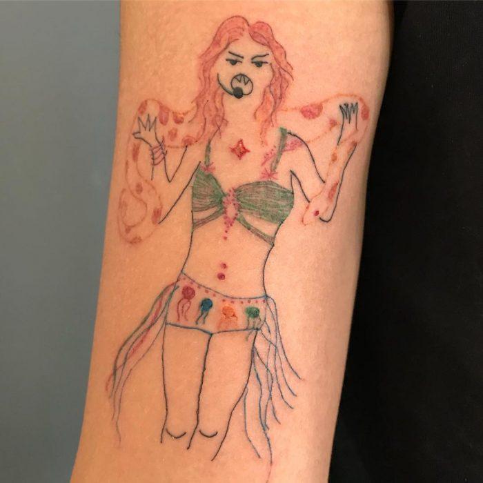 Tatuajes de Helena Fernandes