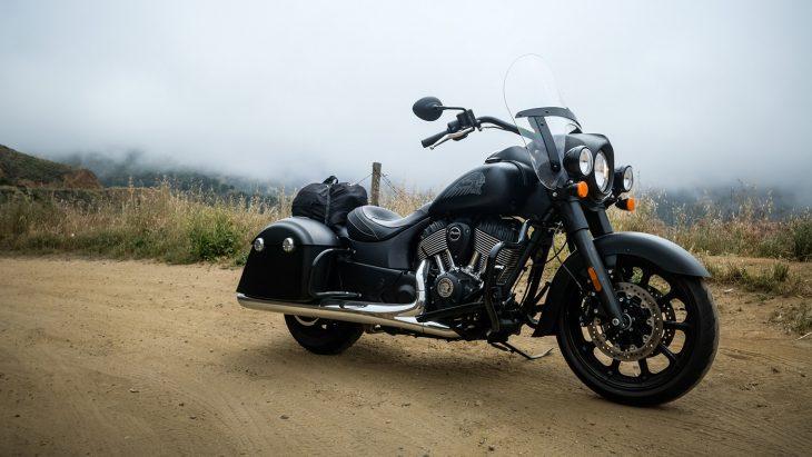 motocicleta indian springfield dark horse jack daniel's