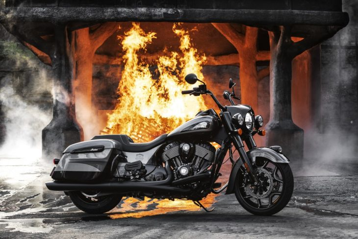 lanzan motocicleta indian springfield dark horse jack daniel's
