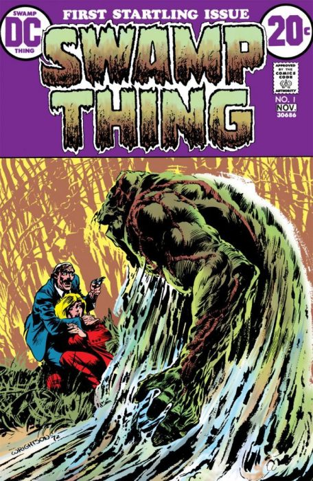 comic swamp thing 1972