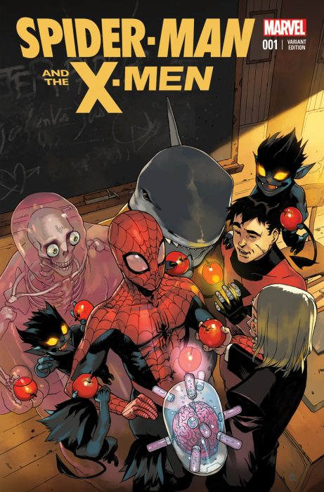 Spider Man y los X-Men