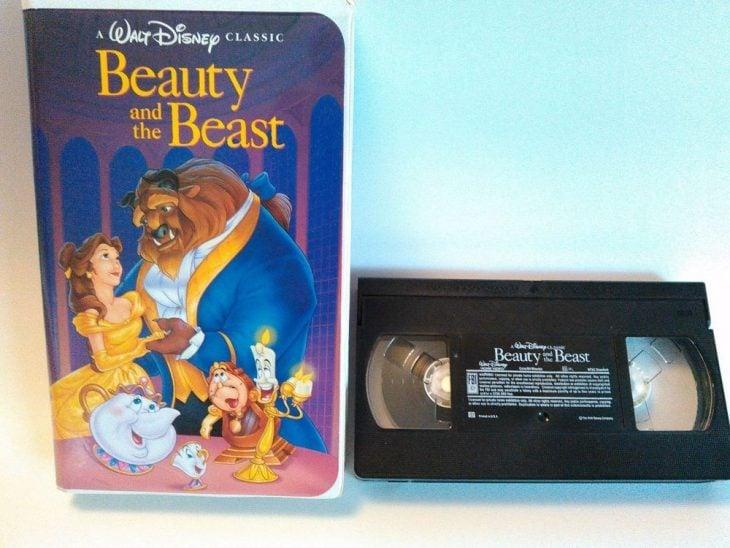 VHS La Bella y la Bestia