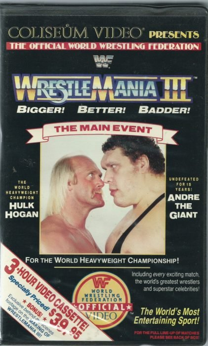 Wrestlemania III