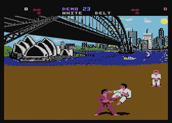 videojuegos vieja escuela controvertidos international karate