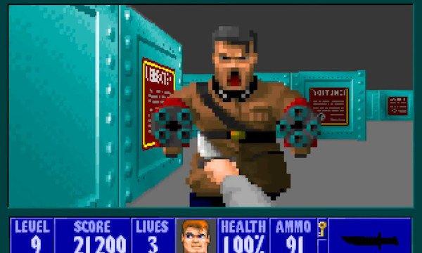 videojuegos vieja escuela controvertidos wolfenstein