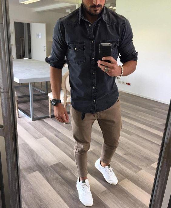 reloj camisa