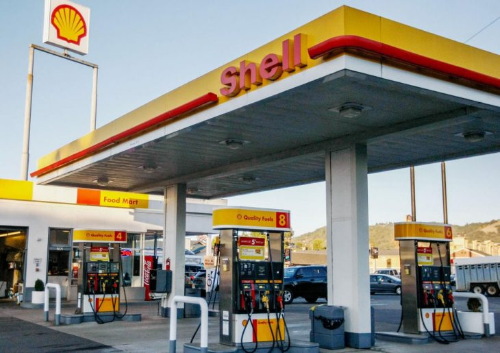 shell gasolinería