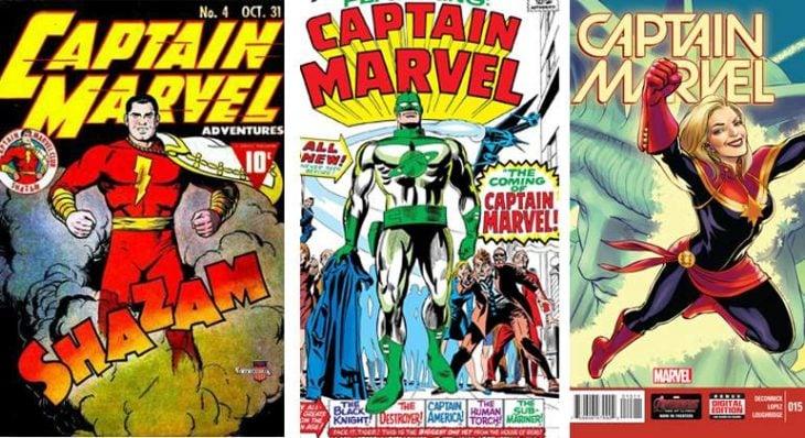 capitan marvel comic