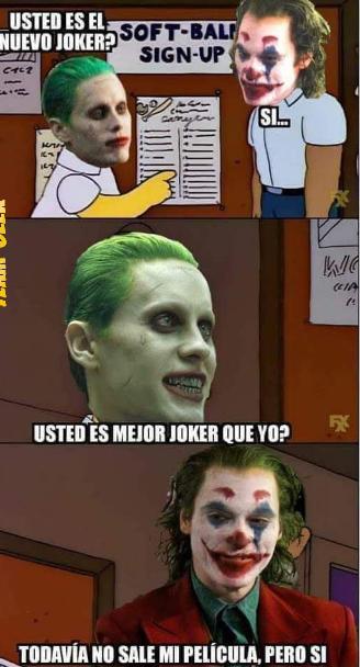 Joker meme jared leto