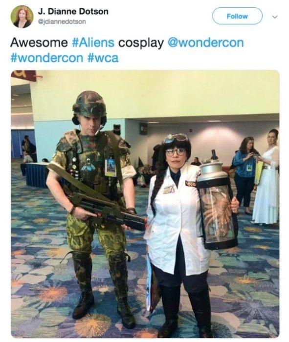 Cosplay en WonderCon 2019