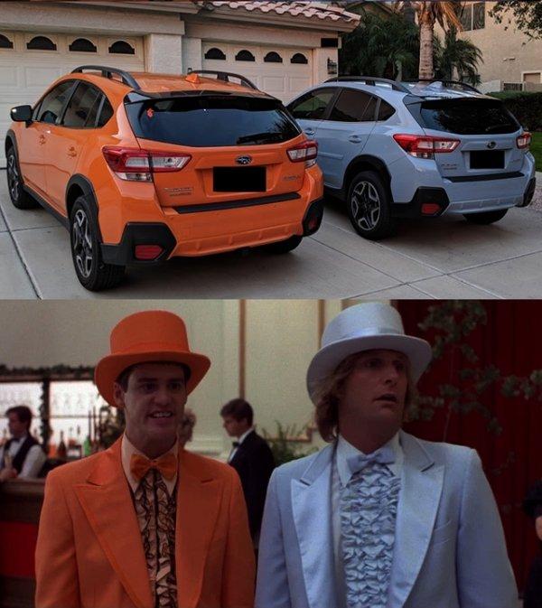 autos modificados feos pareja de idiotas