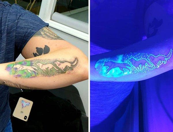 tatuajes Ultravioleta