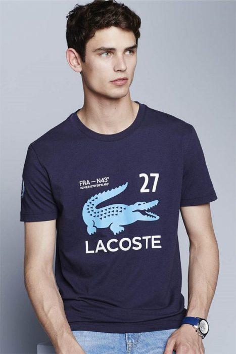 camisa logo marca