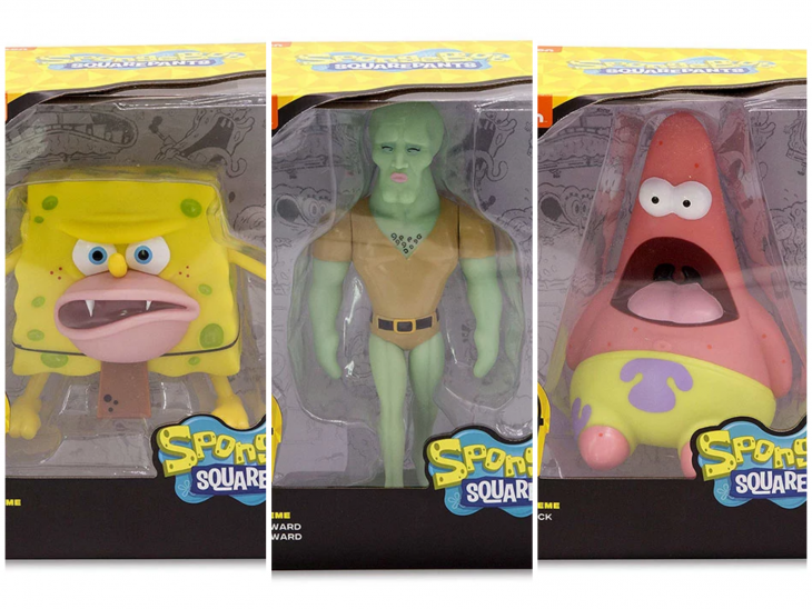 juguetes memes bob esponja