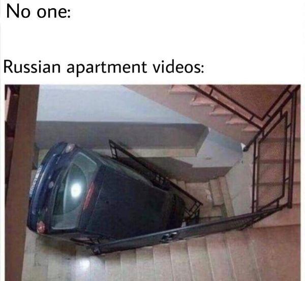 cosas raras en rusia departamento