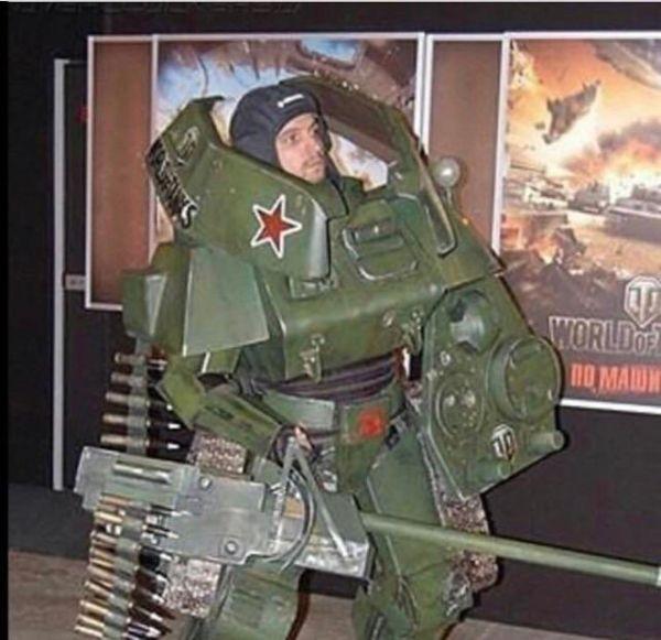 cosas raras en rusia tanque