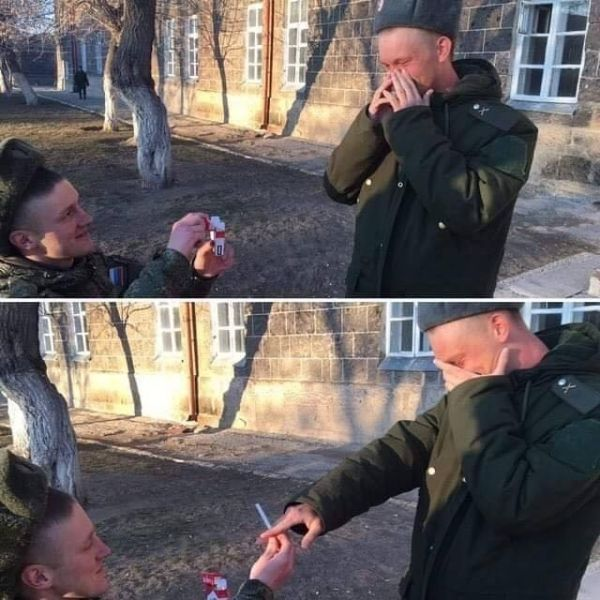 cosas raras en rusia cigarros