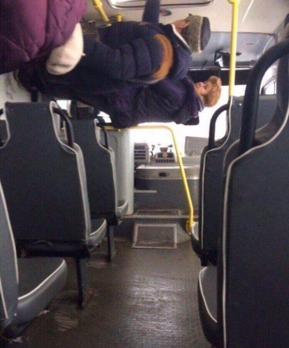 cosas raras en rusia autobus
