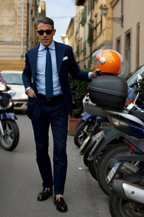 traje hombre moda