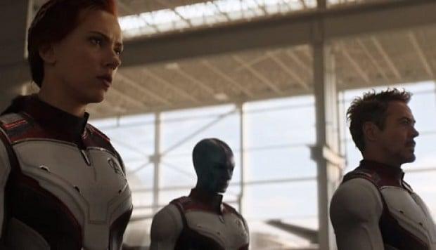 avengers en trajes cuánticos