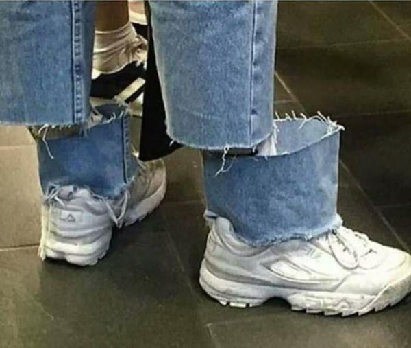 Imágenes raras sin explicación jeans