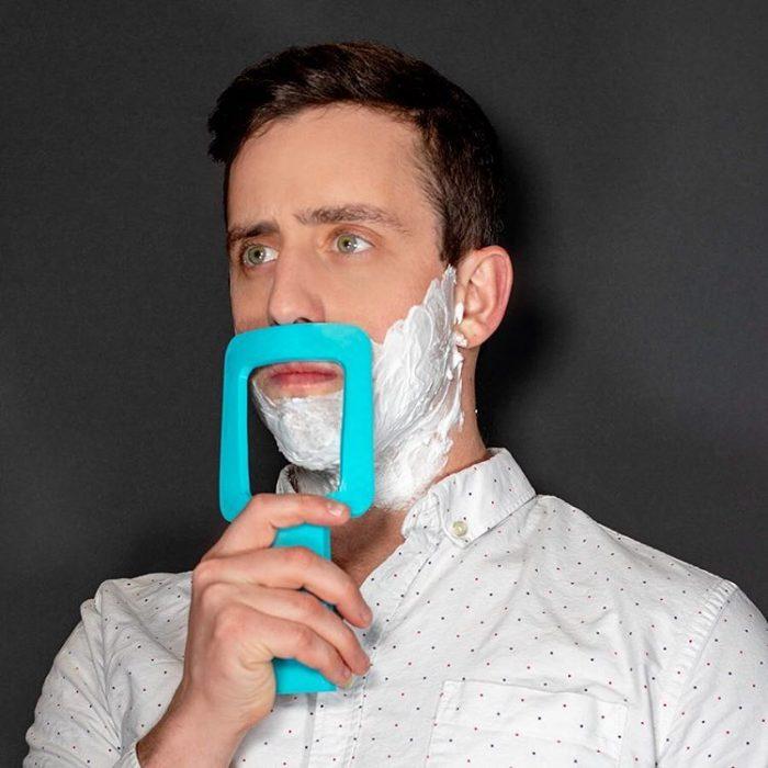 cuadro de afeitado