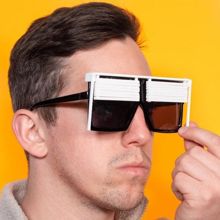 Inventos innecesarios lentes persianas