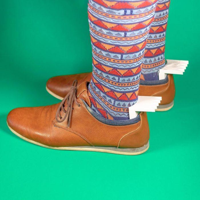 Inventos innecesarios calcetines