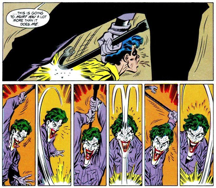 joker mata a robin