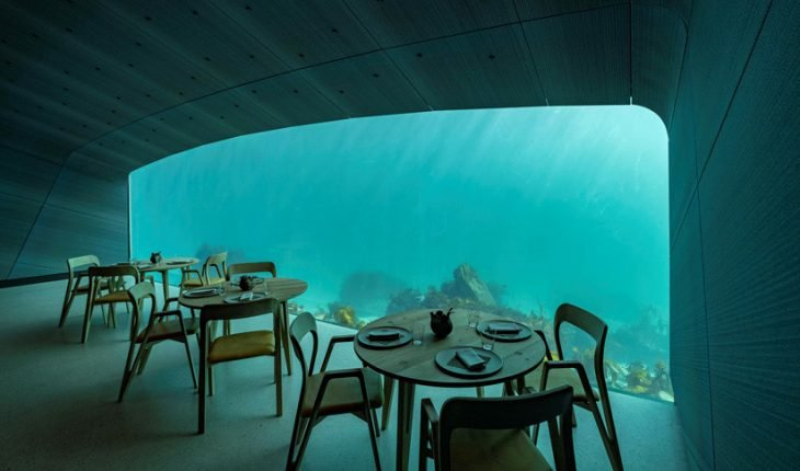 Under, restaurante submarino