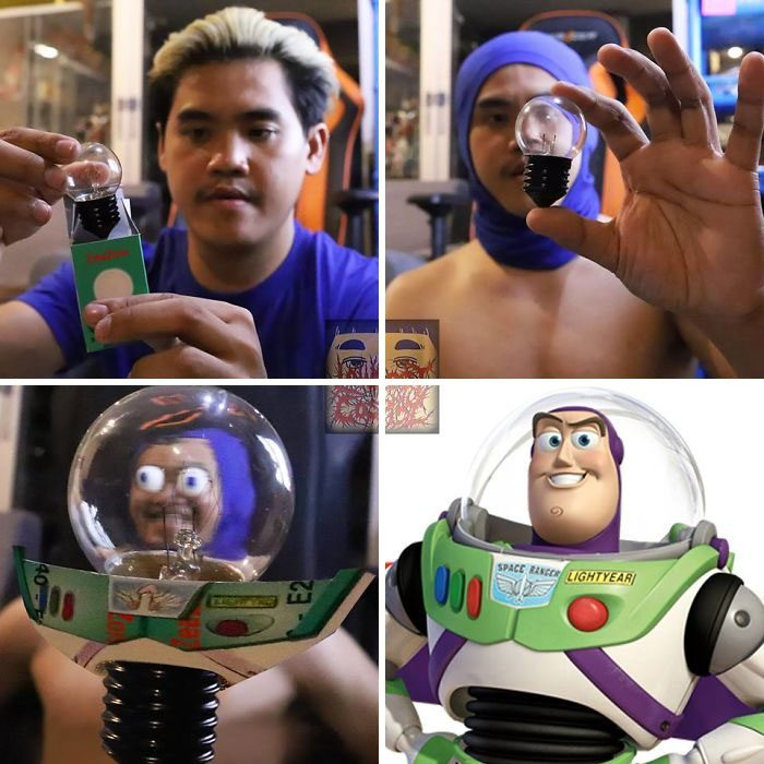 cosplay de bajo costo buzz lightyear