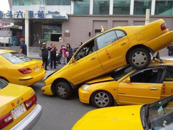 Mal día taxi