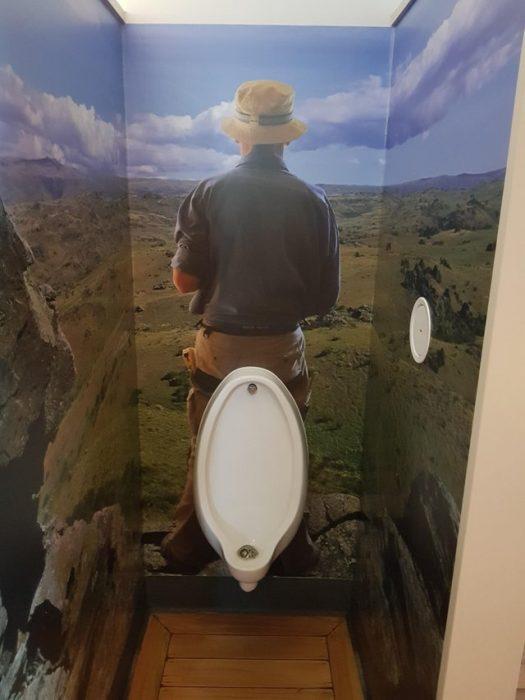 Malos diseños urinal