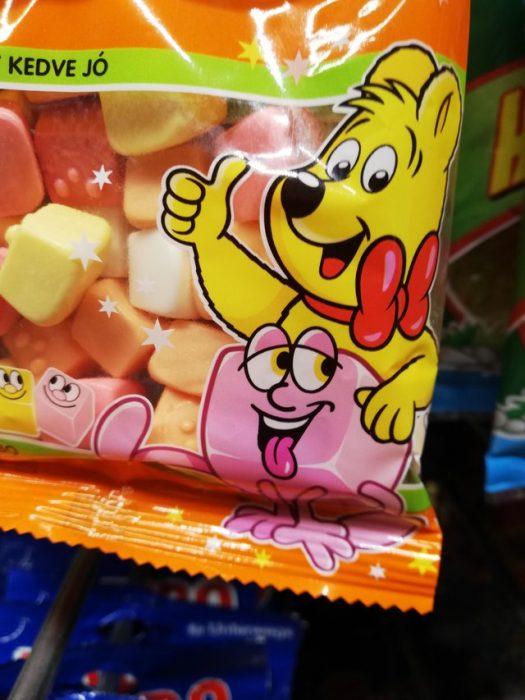Malos diseños dulces