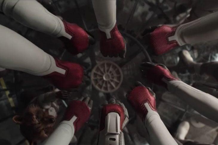 trajes cuánticos de endgame