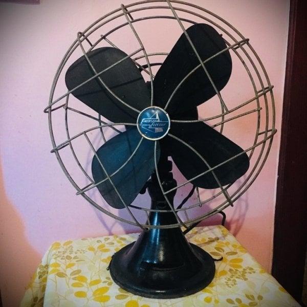 Objetos antiguos que aún sirven ventilador